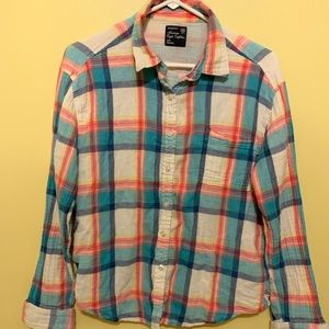 AE light flannel shirt